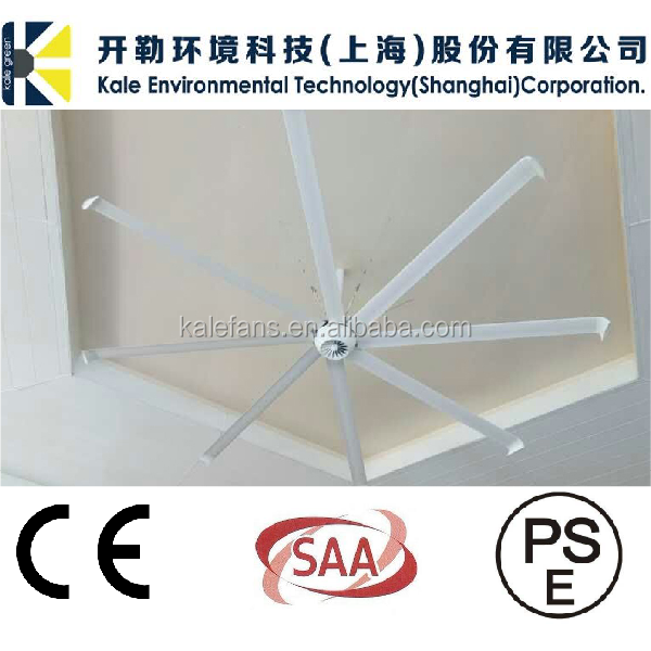 Aerodynamic Aluminum Fan Blade BLDC Motor Roof Air Ventilator Ceiling Fan Prices