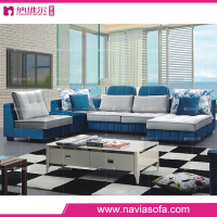 living room fabric furniture u shape sectional sofa with comfortable leisure recliner chair luxury curved sofa