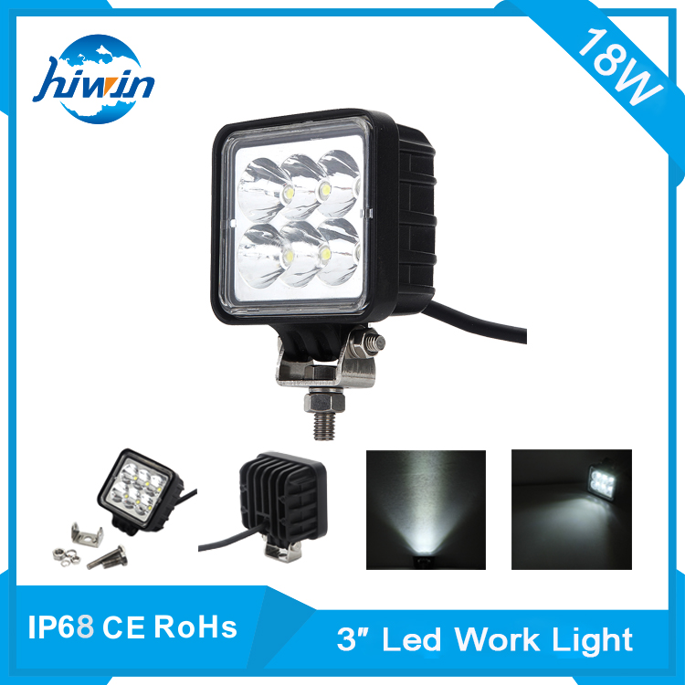hiwin USA market led display hot sale 40W 12 Volt LED Work Light 12v led car spotlights YP-3018