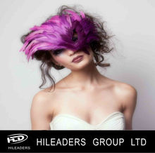 Decorative Masquerade Feather Mask HH040
