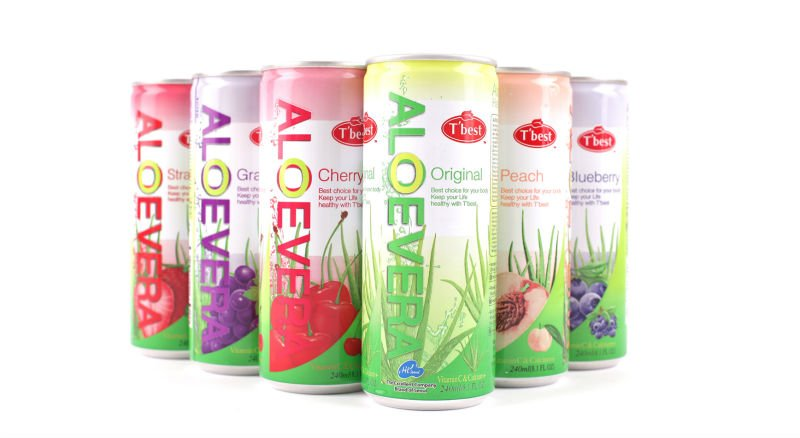 Aloe Vera Drink 240ml Can