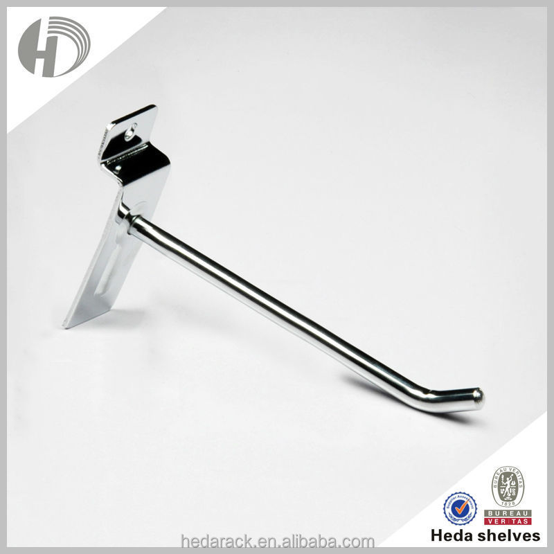 Strong bearing silver rack shelf wire hook