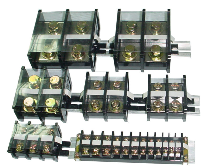 TA-Series Any Pole Assembly 10~400A Din Rail Mounted Terminal Block