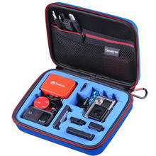 high quality carrying and travel case bag with foam for go pro hd camera