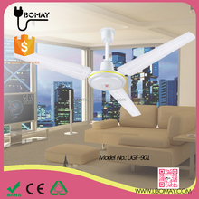 42''/48''/56'' Industrial Cheap 3 Iron Blades Ceiling Fan With Wall Control
