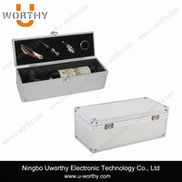 high quality metal protective packaging box custom hard shell aluminum case for electronic instrument