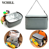 Waterproof Single Shoulder Insulated Cooler Bag for Frozen Food