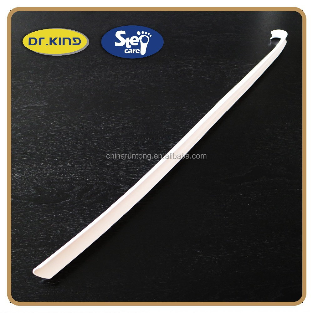 79cm long handle custom promotional plastic shoe horn