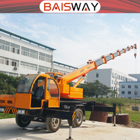 China mini truck crane with 5 ton lifting ability