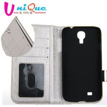 wallet purse woman white phone leather case for samsung galaxy s5 i9600