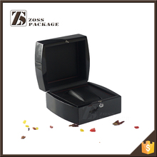 China custom high quality Carbon fiber PU leather watch box