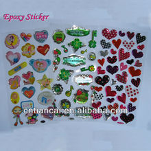 Home Decoration Epoxy Sticker Custom 3D Epoxy Sticker
