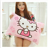 Super Soft Hello Kitty Flannel Pillow Case