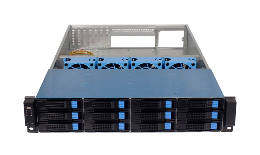 New Product 2U Server Case 12bays Storage rackmount chassis