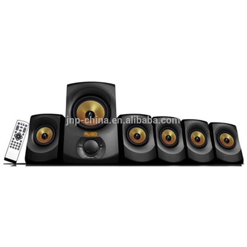USB SD FM bluetooth home theater systems 5.1 speaker With Remote Control
