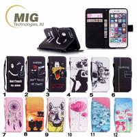 For iphone 4s phone case Colorful Hand Strap wallet Leather case for apple iphone 4