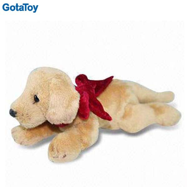Hot Sale Cheap stuffed soft Labrador toy