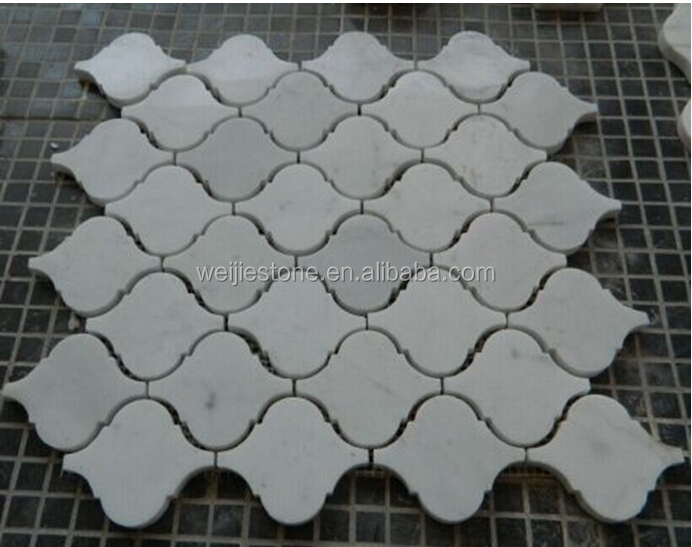 High Polished Arabesque Lantern Shape Tile For The Living
