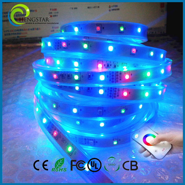 RGB strip light blister packing led kit 5050
