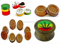 Herb GRINDER Glass Smoking Pipe Pipes
