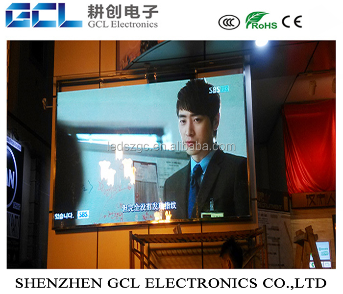 led sign display commercial advertising outdoor giant led screen video wall front maintenance p10 p8 module led display