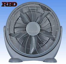 20 inch High Efficient Electric Box Fan Industrial Workshop Pedestal fan with big motor 220v