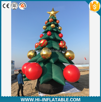 Top ! 2016 christmas inflatable tree decoration