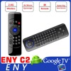 Fly Air Mouse Wireless Qwerty Keyboard Remote C2 mini wireless keyboard for smart tv box