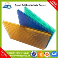Building material impact resistance balcony patio cover for roofing