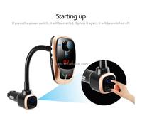 MP3 Player Handsfree Wireless FM Transmitter Dual USB Charger Car Bluetooth Phone Kit