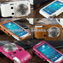 PU Leather Case Cover Skin for Samsung Galaxy S4 Zoom SM-C1010 C101 Camera Phone