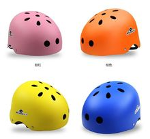 Colorful Plastic Helmet With Cartoon Sticker