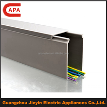 Economic PVC Solid Wall Cable/Wiring Trunking/Duct