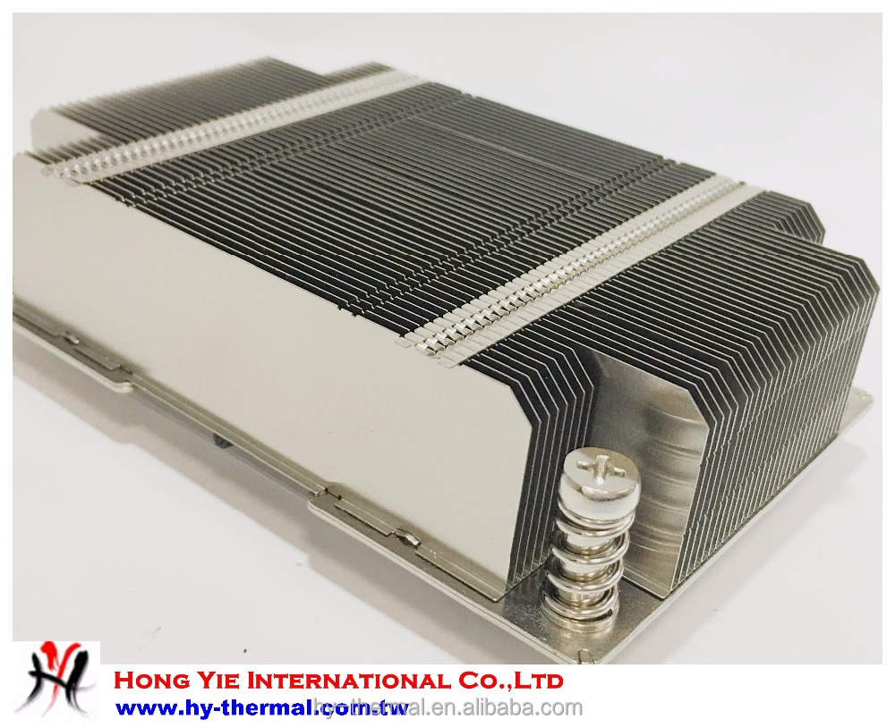 High quality aluminum profile heat sink hy04a vc base