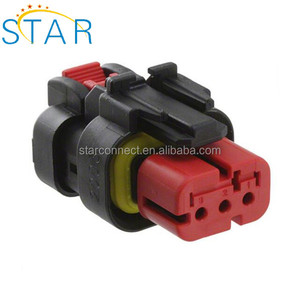 Factory 3 Position Rectangular Housing Connector 776429-1