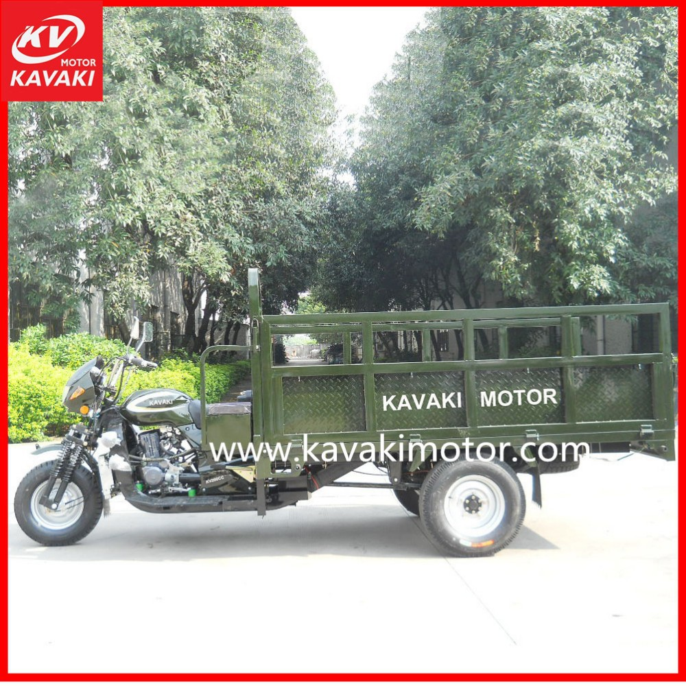 Guangzhou China KAVAKI Cargo Tricycle/Trike Chopper Three Wheel Motorcycle/Mini Electric Car for Sale