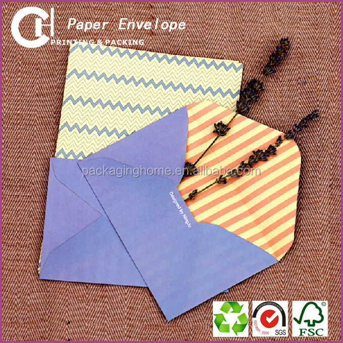 Hot sales colorful art paper envelope