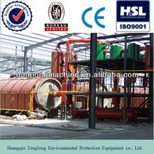 TL crude oil refining to diesel distillation plant machine high oil yield