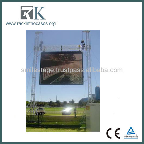Aluminum Truss lifting tower for concert, show, performance k