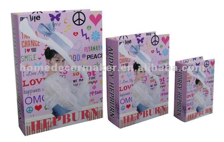 Audrey Hepburn Design Gift Book Box