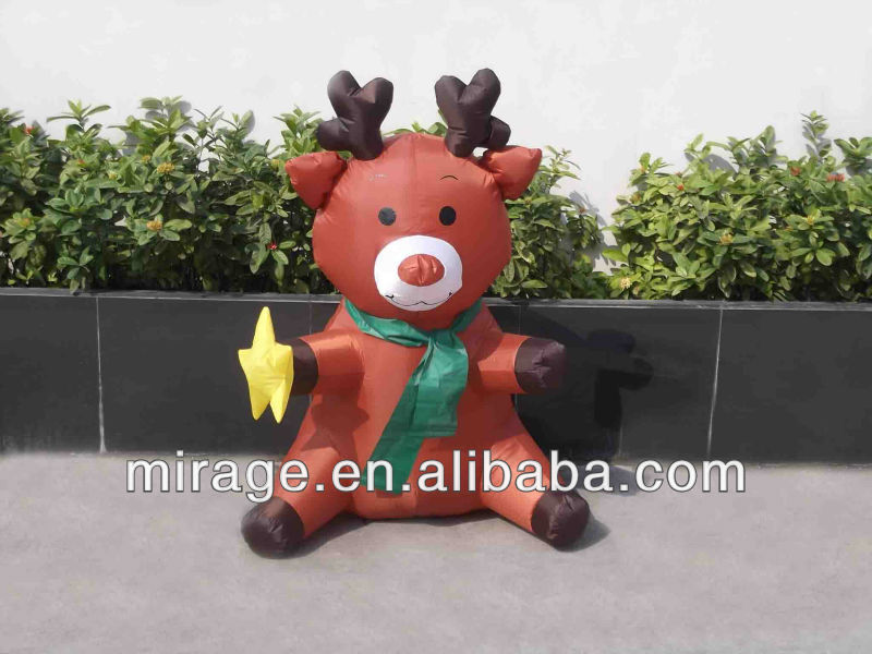 inflatable product\moving cartoon\inflatable advertising item for Christmas Day