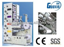Good quality five colors of roll sticker printing machine