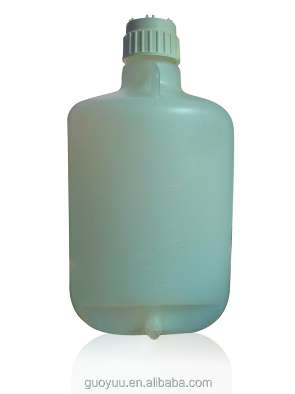 10L Strong, Large Capacity, White Empty Plastic Bucket Bottle