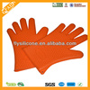 New design promational household colorful silicone microwave mittens