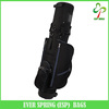 6 Way padded molded devider luxury golf bag, custom made all-in-one design golf travel bag with wheels