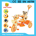children tricycle 2017 baby tricycle new model with musical and flashing panda head baby trike for kids