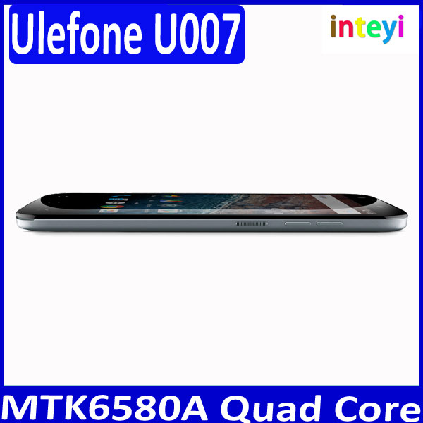 "Chinese Ulefone U007 Smartphone Android 6.0 MTK6580A Quad Core 1GB+8GB 5MP 13MP Air Gestures Off-screen Gestures 5.0"" HD Phone"