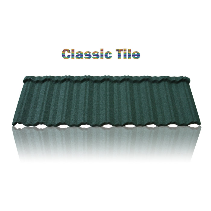 Al-Zn coated steel galvanised corrugated roofing sheet, mixed color stone coated steel roofing tile