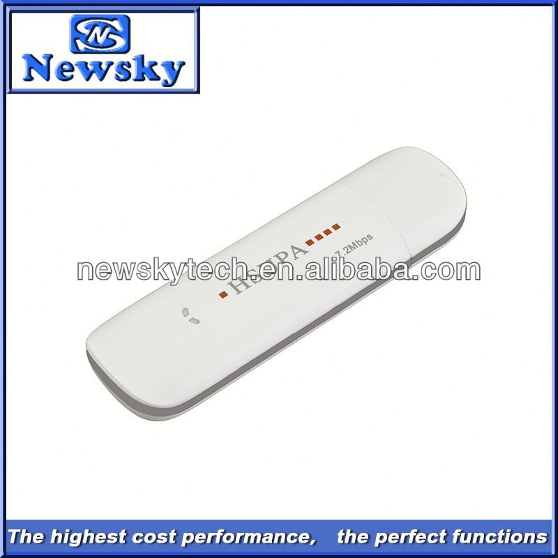 7.2Mbps umts hsupa driver hsdpa usb modem android with sim card slot