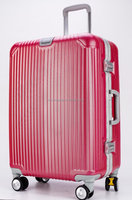 aluminum trolley case/ABS+PC trolley luggage/Aluminum hard luggage